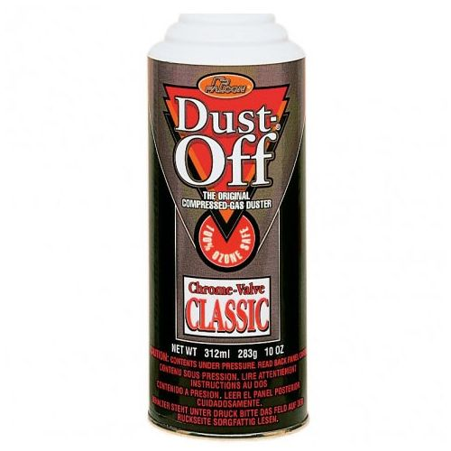 Dust Off® Classic Compressed Gas Duster Refill Can [10 oz.] Item#05LIDOFFGSR