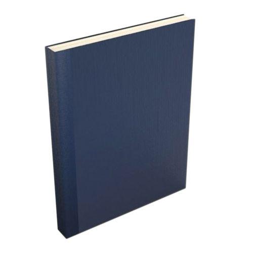 Dark Blue Buckram Easyback Hardcovers from Fastback