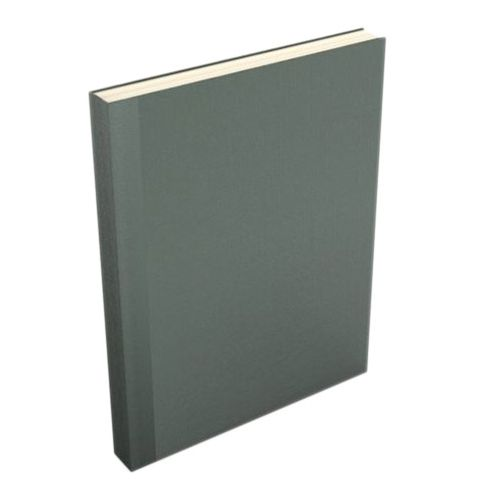 Dark Gray Buckram Easyback Hardcovers from Fastback