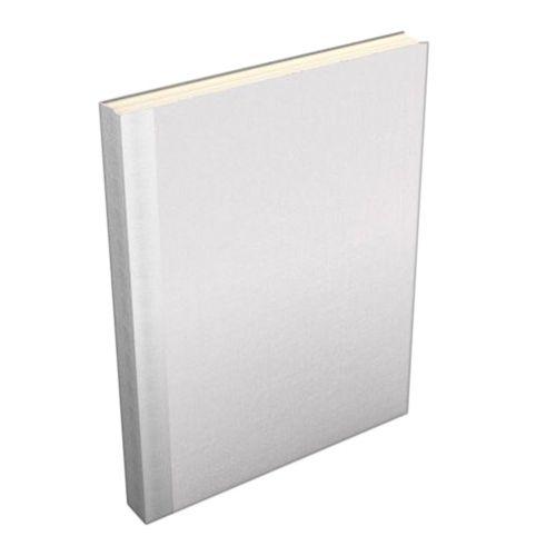 White Buckram Easyback Hardcovers from Fastback