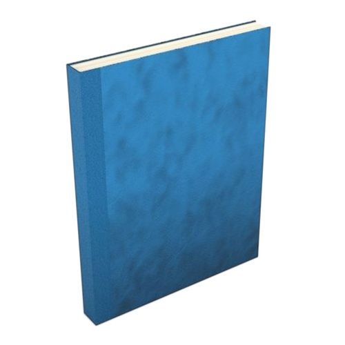 Bright Blue Suede Fastback Easyback Hardcovers