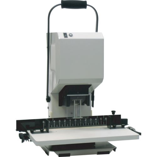 Spinnit® EBM-2.1 EZ Glide Manual 1-Spindle Desktop Paper Drill - Binding101