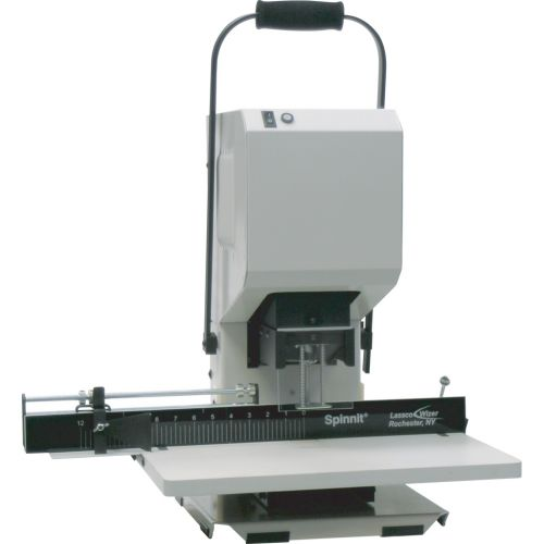Spinnit® EBM-S Manual 1-Spindle Desktop Paper Drill - Binding101