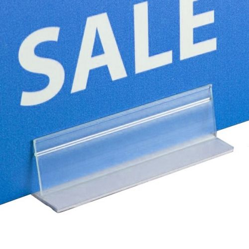 Buy Economy Adhesive Table-Top Sign Holders