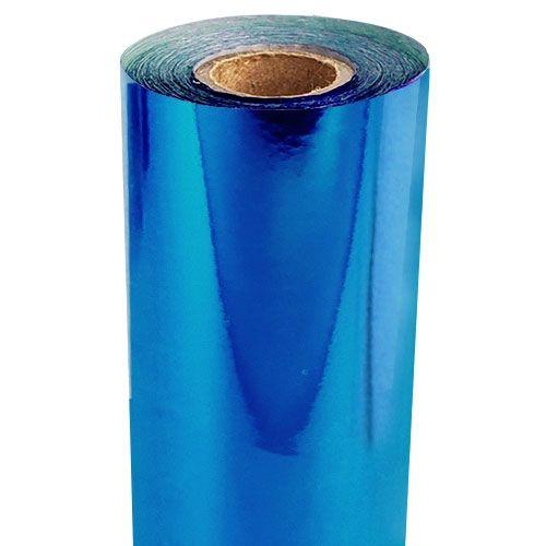 Electric Blue Metallic Foil Fusing Rolls