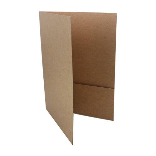 Natural Chipboard Envirofolder Pocket Folder