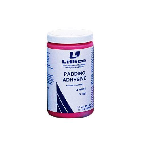 Fast Drying Padding Glue [Red, 1 Quart] Item#05PADGLUERDQ