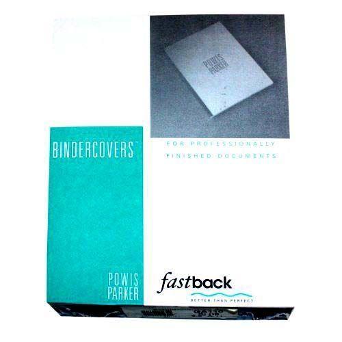 "Fastback Dark Blue 8.5"" x 11"" FoilFast Composition Covers - GA110 (100/Pack)"