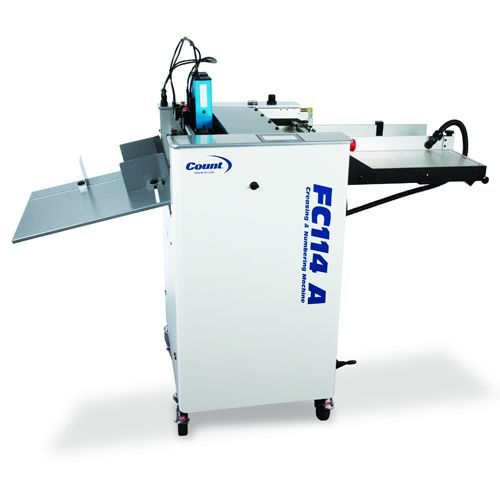 Count FC114A Air-Feed Digital Creaser, Numbering, & Perforating Machine Image 1