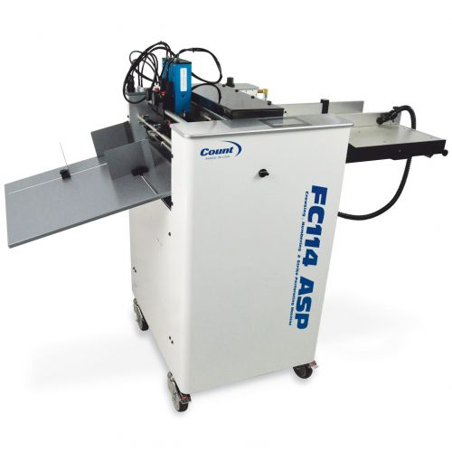 Count FC114ASP Air-Feed Digital Creaser, Numbering, & Strike Perforating Machine