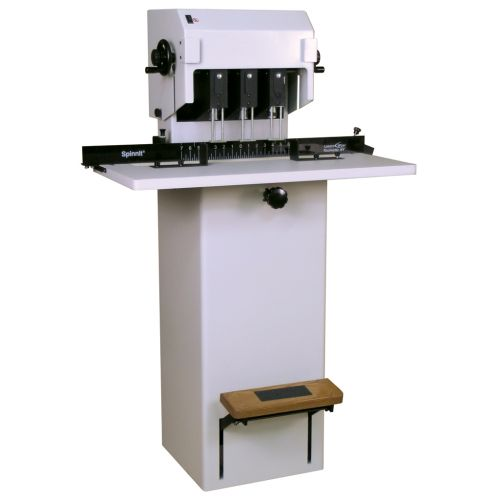 Lassco Wizer Spinnit® FMM-3 Manual 3-Spindle Floorstanding Paper Drill - Binding101
