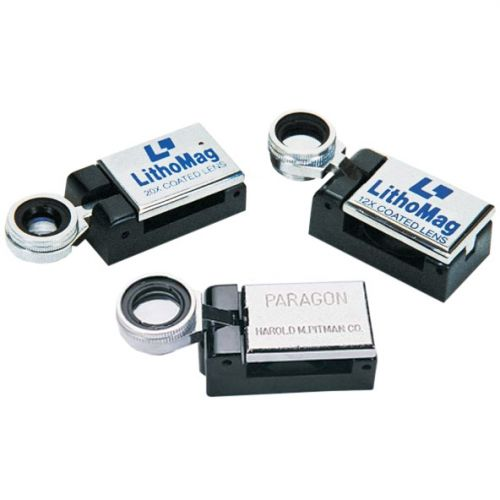 Folding Magnifying Loupe, 10x, 12x, 20x Magnification