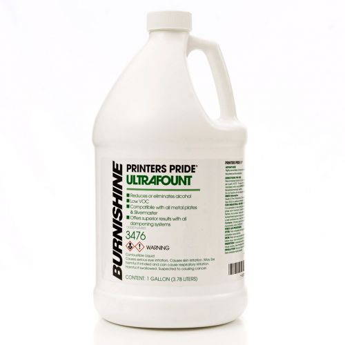 Burnishine® Printers Pride Ultrafount Fountain Solution Concentrate [Gallon]