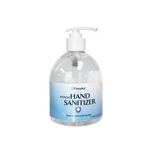 Fourplus 500ml Hand Sanitizer - 4 Pack Image 1