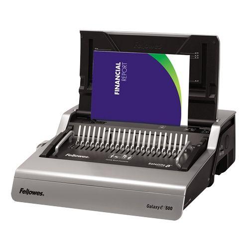 Fellowes Galaxy E 500-Sheet Electric Comb Binding Machine - 5218301 Image 1