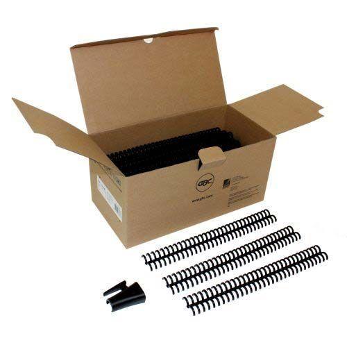 "1/2"" Black GBC Pro-Click Spines (100/pk)"