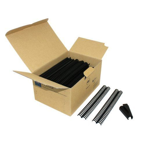 "5/8"" Black GBC Pro-Click Spines (100/pk)"