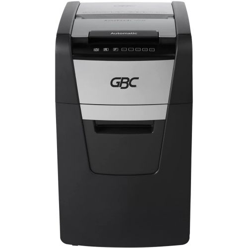 GBC Stack and Shred 150M AutoFeed P-5 Micro-Cut Commercial Shredder - WSM1757605 Image 1