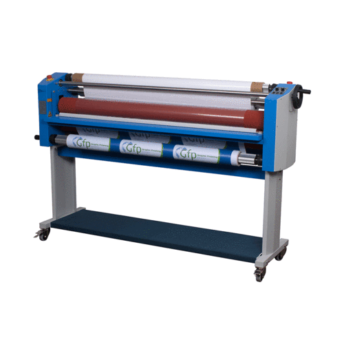 """GFP 355TH 55"""" Wide Format Cold Laminator with Top-Heat"""