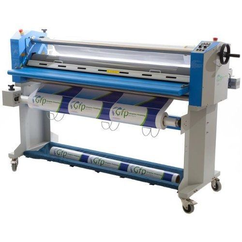 """GFP 563TH-4RS 63"""" Wide Format Cold Laminator with Top-Heat & Slitter"""