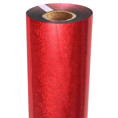 Red Glitter Foil Fusing Roll
