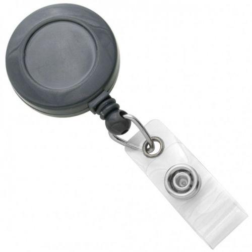 Clear Round Retractable ID Badge Reel (100/pk) Item#09AKREBACL