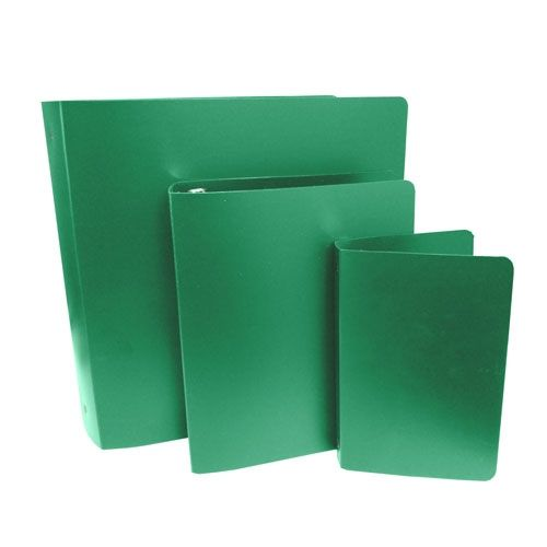Green Letter Size Poly Binders (Case of 100) Image 1