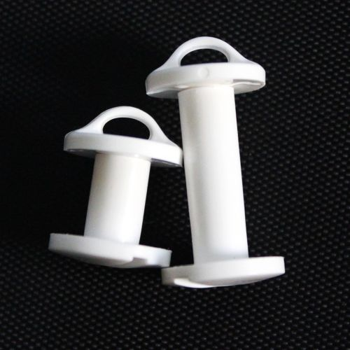 Plastic Loop Screw Posts + Plastic Snap Lock Posts