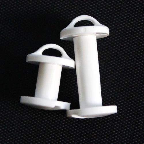 Plastic Loop Screw Posts + Plastic Snap Lock Posts