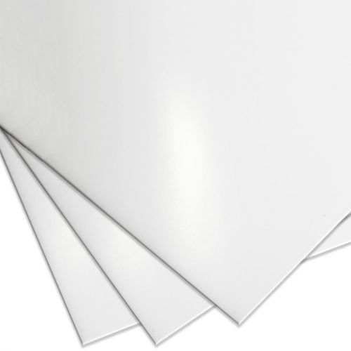 "White High Gloss 8½"" x 11"" Report Covers"