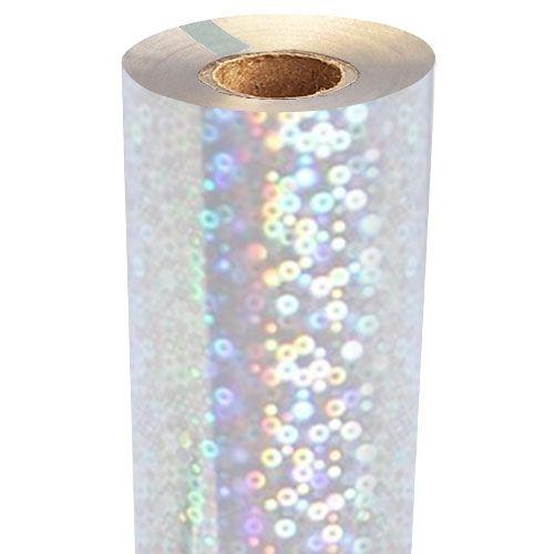 Bubbles Holographic Foil Fusing Rolls [Transparent Underlay] Image 1