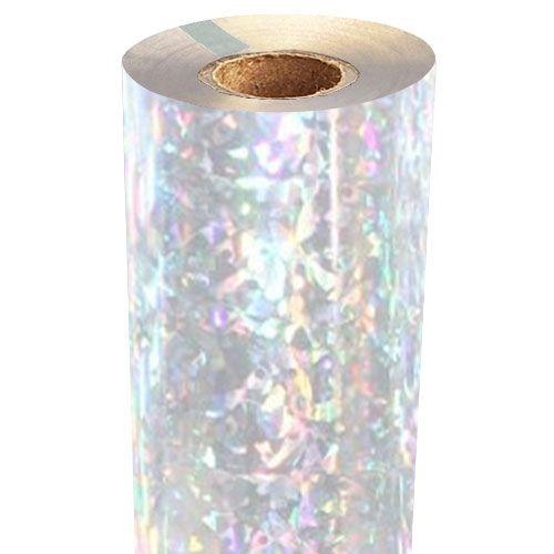 Shattered Glass Holographic Foil Fusing Rolls [Transparent Underlay] Image 1