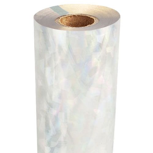 Stained Glass Holographic Foil Fusing Rolls [Transparent Underlay] Image 1