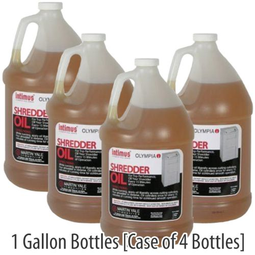 1 Gal. Intimus® Shredder Oil (Case of 4)