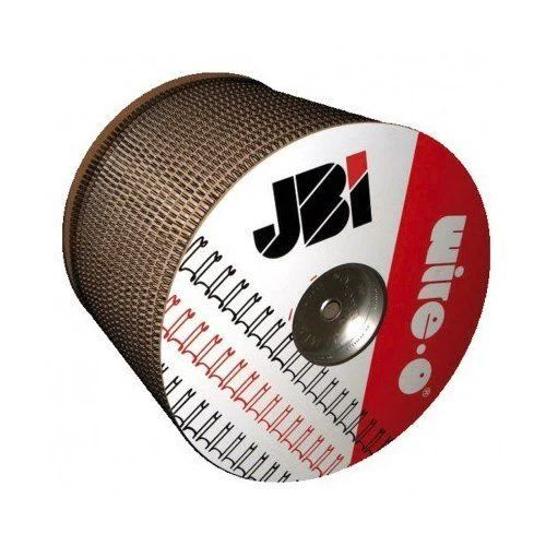 """1 ¼"""" Black Wire-O Spool [2:1 Pitch] (2,900 Loops) Item#91JB114SPLBK"""