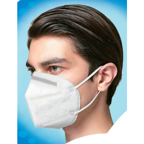 KN95 Disposable Face Mask in Use