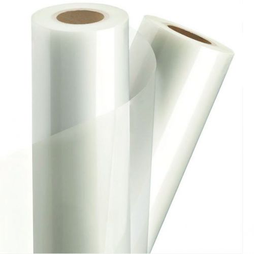 "1.5 Mil Laminating Film [25"" x 500', Gloss, 1"" Core] (2 Rolls) Item#18B25155001PI"