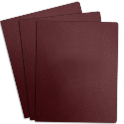 Maroon Linen Paper Report Covers (100 Pack)