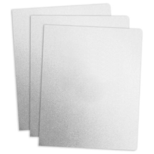 White Linen Paper Report Covers (100 Pack)
