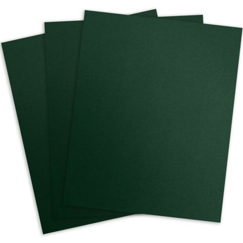 Woodland Green Linen Paper Report Covers (100 Pack)