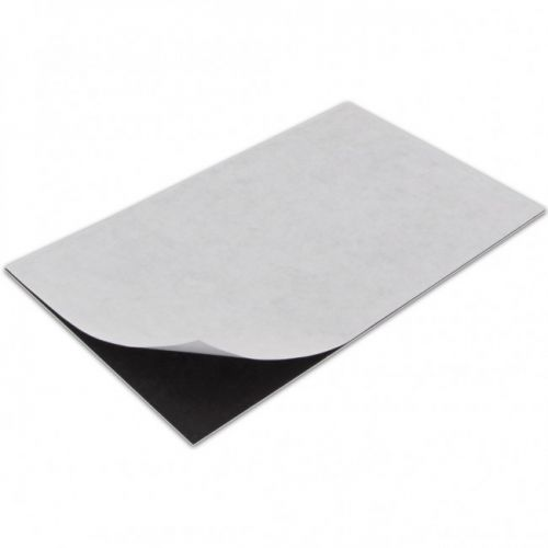 """Adhesive Magnetic Sheets [3.5"""" x 5""""] (100/Bx) Item#17MMAMS355"""