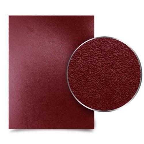 Sedona Maroon Premium 17pt Vinyl Report Covers (100/Bx) Image 1