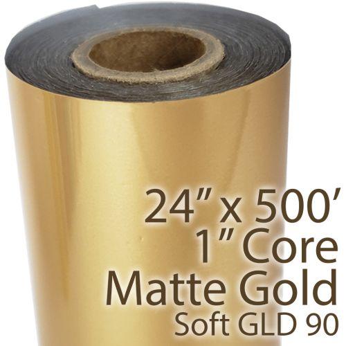 Soft Matte Gold Thermal Reactive Toner Foils