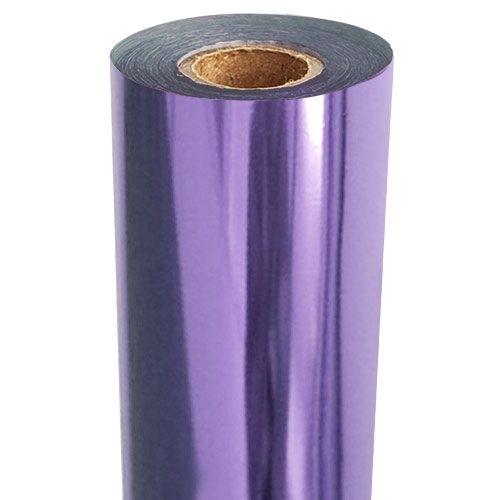 Medium Purple Metallic Foil Fusing Roll