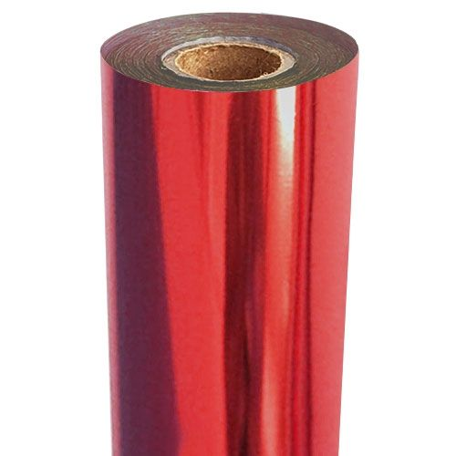 Medium Red Metallic Foil Fusing Rolls