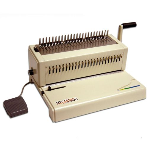 Akiles MegaBind-1E Electric Plastic Comb Punch & Binding Machine
