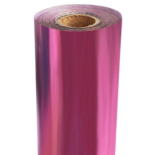 Bright Pink Metallic Foil Fusing Rolls