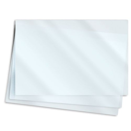 """9"""" x 6"""" Note Card / Half Size Laminating Pouches"""