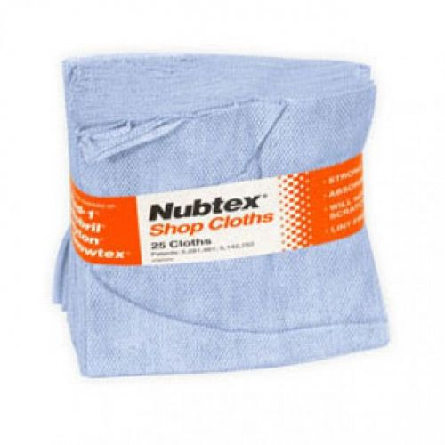 "Nubtex® 16"" x 17"" Shop Cloths [25 Wipes/Bundle, 15 Bundle/Case] Item#05LIKENNT617"