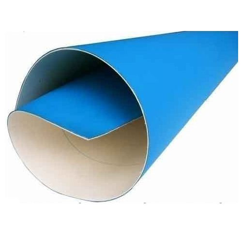 "18 ½"" x 11"" Premium Blue AM Multigraphics 1250W-11 3-Ply Offset Printing Blanket"